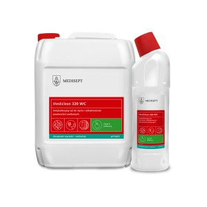 Mediclean MC 320 WC antybakteryjny żel do Wc 750 ml